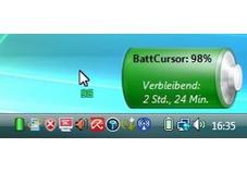 Screenshot 1 - BattCursor