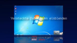 Windows 7: Versteckte Dateien einblenden