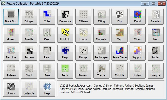 Screenshot 1 - Puzzle Collection Portable