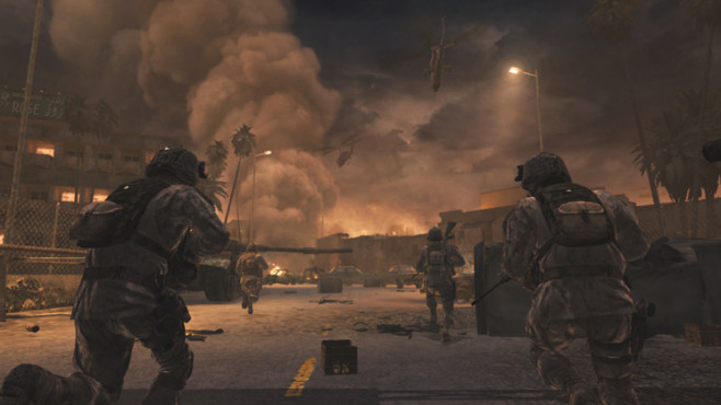 Actionspiel Call of Duty 4 – Modern Warfare ©Activision