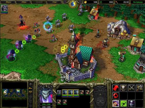 Strategiespiel Warcraft 3 ©Blizzard