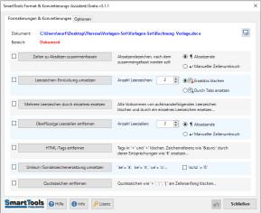 SmartTools Format- und Konvertierungs-Assistent für Word