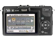 Panasonic Lumix DMC-GF2 Rückseite©COMPUTER BILD