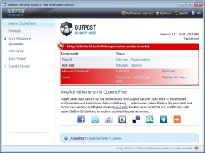 Outpost Security Suite Free (32 Bit)