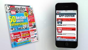 Das neue COMPUTER BILD-App-Center: So funktioniert's f�r Handys!©COMPUTER BILD