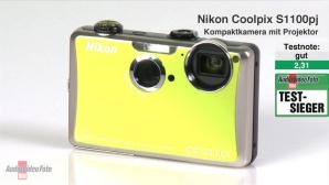 Video zum Testsieger: Nikon Coolpix S1100pj Kompaktkamera mit Beamer