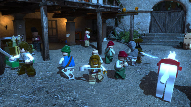 Actionspiel Lego Pirates of the Caribbean: ©Disney Interactive