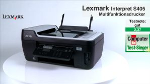 Video zum Testsieger: Lexmark Interpet S405