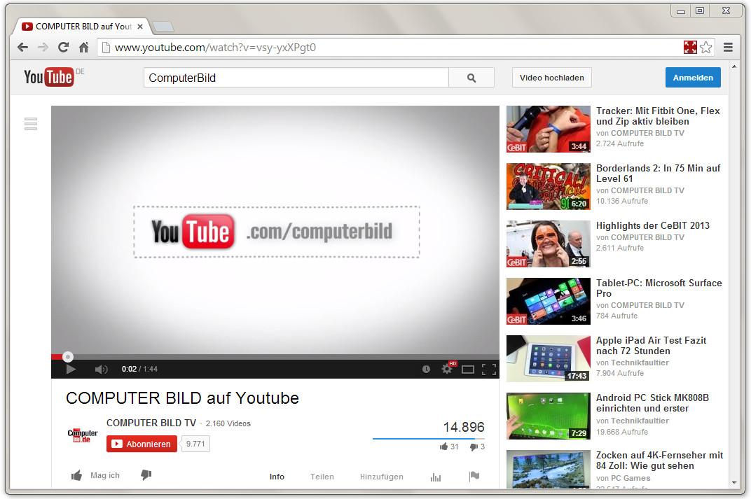 Screenshot 1 - Window Expander for YouTube für Chrome