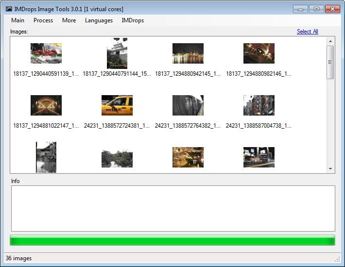 Screenshot 1 - Image Tools