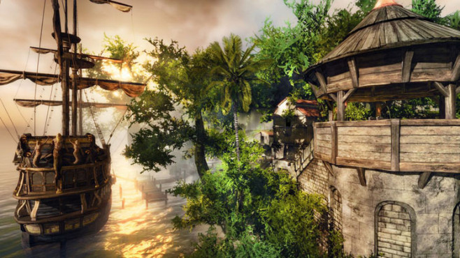 Rollenspiel Risen 2 – Dark Waters: Romantik © Deep Silver