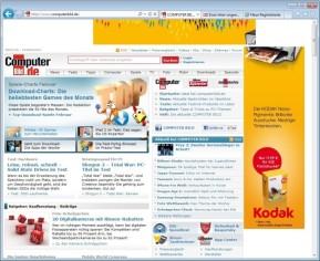 Internet Explorer 9 (Windows 7, 64 Bit)