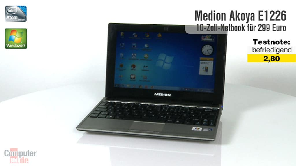 Video zum Test: Medion Akoya E1226 (MD 98570)