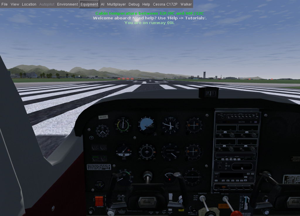 Screenshot 1 - FlightGear