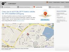 Motorola-Handy orten©Motorola