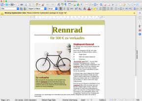 LibreOffice (Mac)