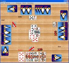 """FreeDoko Mit dem kostenlosen """"FreeDoko"""" spielen Sie ein Doppelkopf-Turnier gegen Ihren PC."""