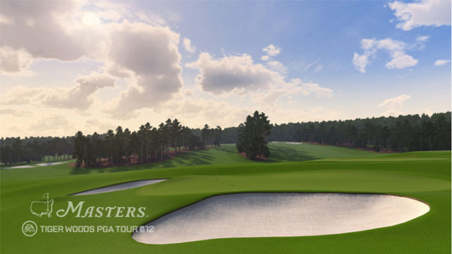 Sportspiel Tiger Woods PGA Tour 12 – The Masters: Himmel ©Electronic Arts