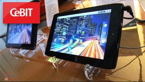 CeBIT 2011: Neue Tablet-PCs und Smartphones von Acer