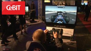 Video-Reportage: CeBIT-Trendthema Gaming©COMPUTER BILD