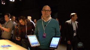 Video-Reportage: Apple pr�sentiert iPad 2