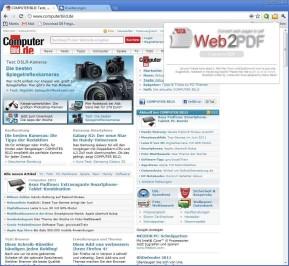 Web2PDF Converter für Chrome