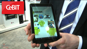 Video-Praxis-Test: LG Tablet-PC mit 3D-Funktionen