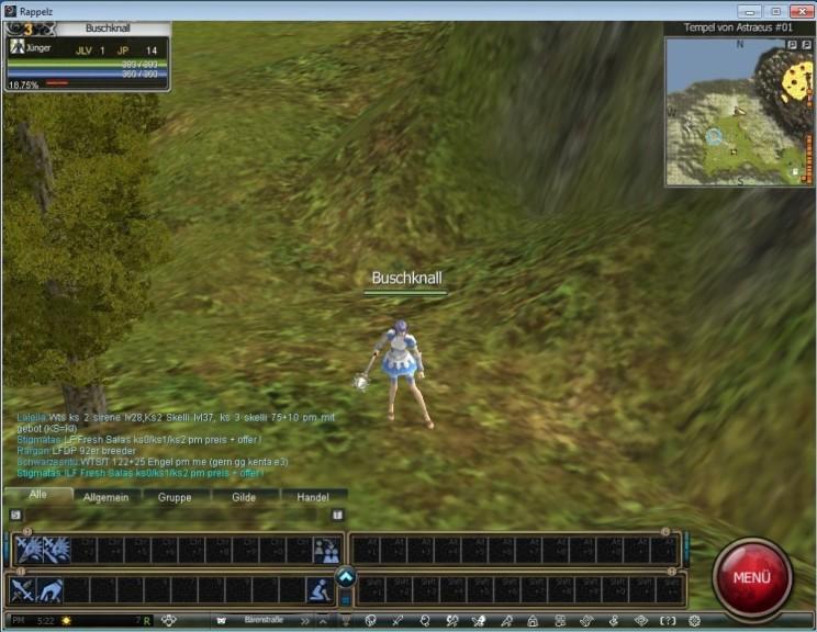 Screenshot 1 - Rappelz