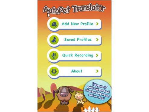 AutoPet Translator Deluxe ©YuMe Games