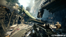 Actionspiel Crysis 2: Brücke©Electronic Arts