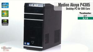 Video zum Test: Aldi-PC Medion Akoya P4385D (MD8890)