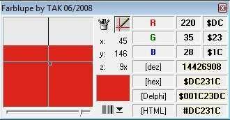 Screenshot 1 - Farblupe