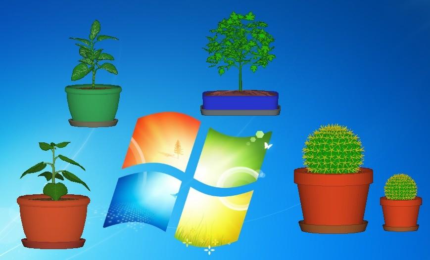 Screenshot 1 - DesktopPlant