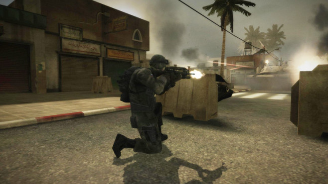 Browserspiel Battlefield Play4free: Deckung ©Electronic Arts