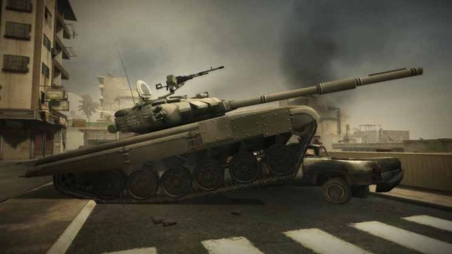 Browserspiel Battlefield Play4free: Panzer ©Electronic Arts
