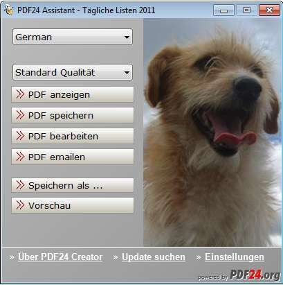 PDF24 Design PDF Creator 1 0 - Download - COMPUTER BILD