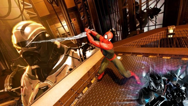 Actionspiel Spider-Man – Edge of Time: Angriff ©Activision