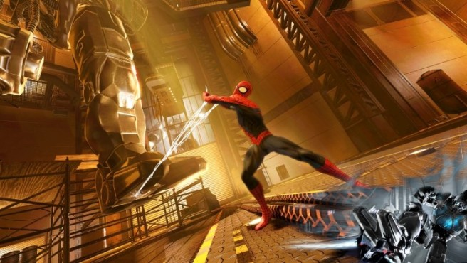 Actionspiel Spider-Man – Edge of Time: Attacke ©Activision