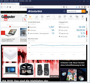 SimilarWeb für Firefox