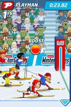 Winter Games for Xperia Play © Gamehouse