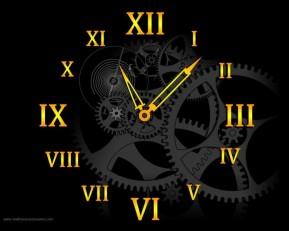 Mechanical Clock Screensaver