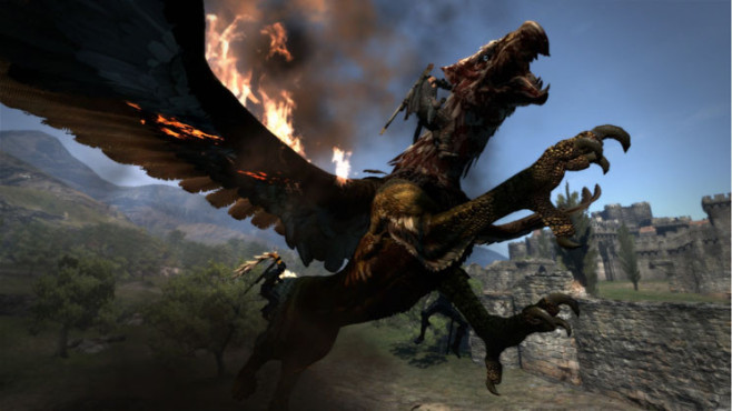 Actionspiel Dragon's Dogma: Reiten © Capcom