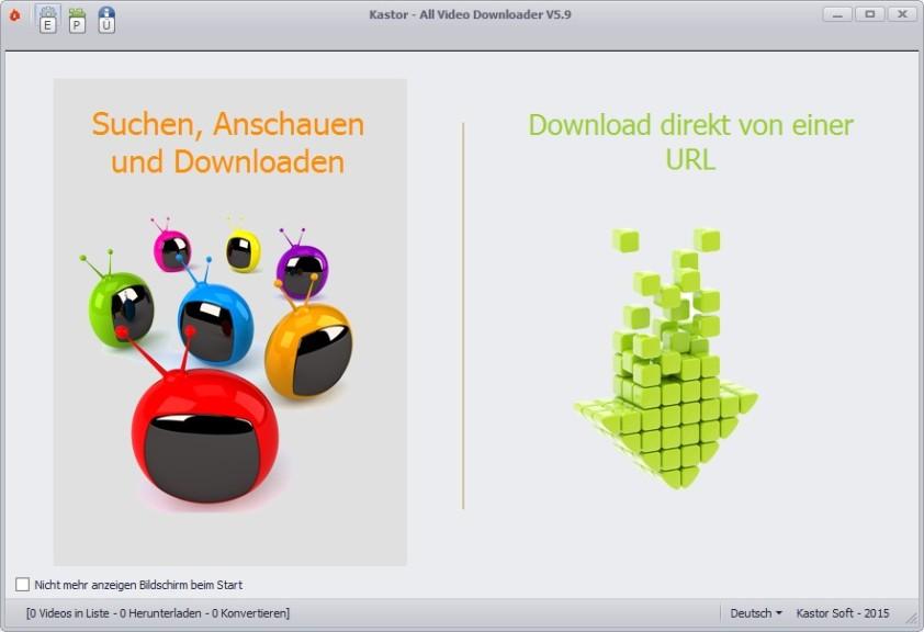 Screenshot 1 - All Video Downloader