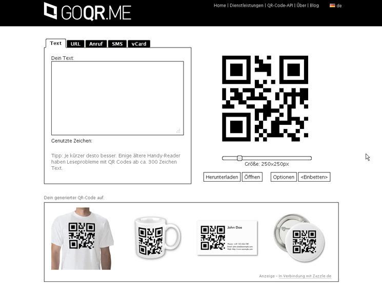 tipps qr code selbst erstellen bilder screenshots computer bild. Black Bedroom Furniture Sets. Home Design Ideas