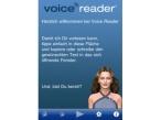 Screenshot Voice Reader Text to Speech©Linguatec