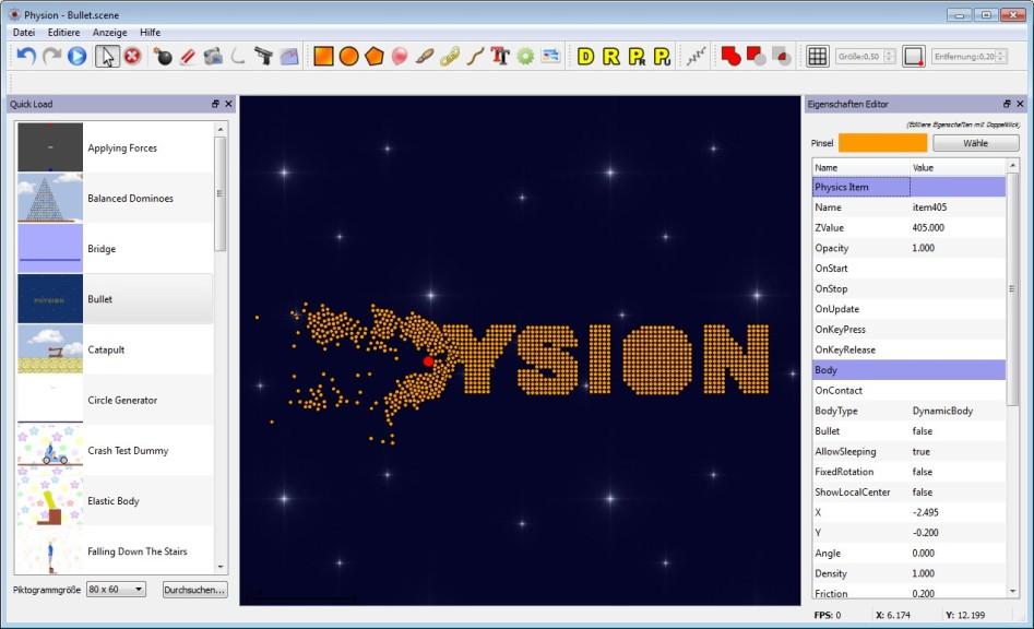 Screenshot 1 - Physion