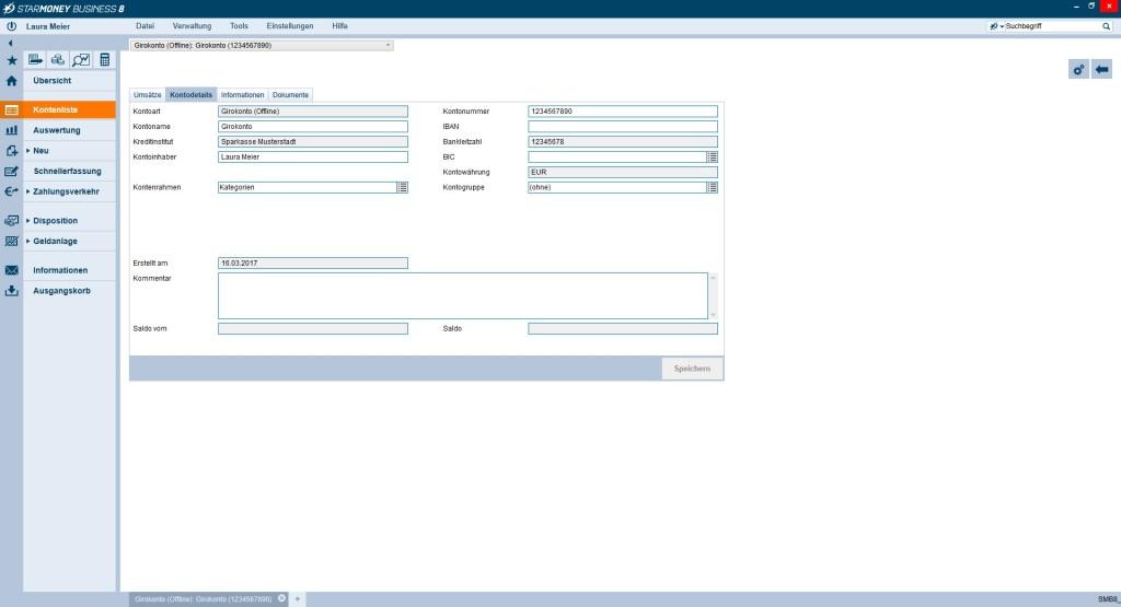 Screenshot 1 - StarMoney Business