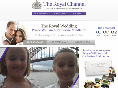 The Royal Channel von YouTube © COMPUTER BILD