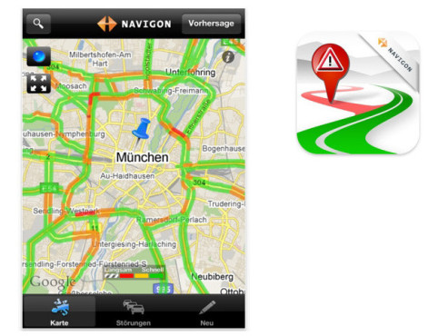 Navigon traffic4all ©Navigon AG