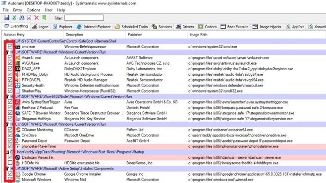 Optimierung durch Entfernen von Haken©COMPUTER BILD